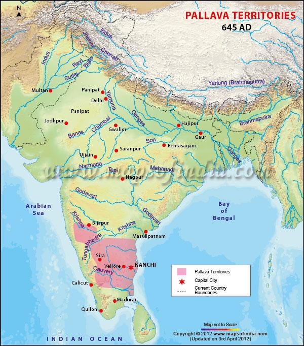 pallava-territories-map