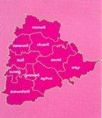 Telangana-map