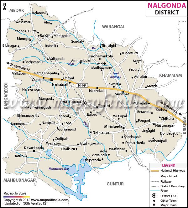 nalgonda-district-map
