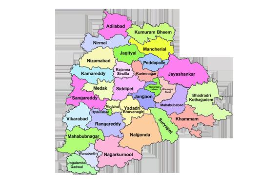 map_telangana
